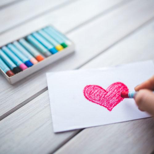 tarjetas de San Valentín - Litografía Romero
