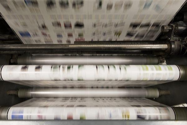 Rotativa Offset Litografía Romero, tu imprenta digital en Canarias