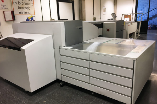 Departamento de Preimpresión de Litografía Romero, tu imprenta digital en Canarias