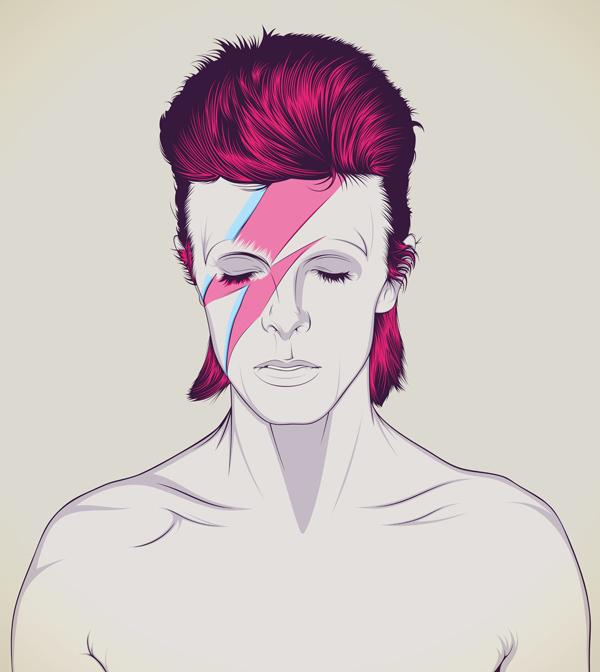 David Bowie y su legado en el diseño gráfico