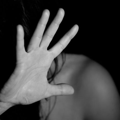 Violencia contra la Mujer - Litografía Romero