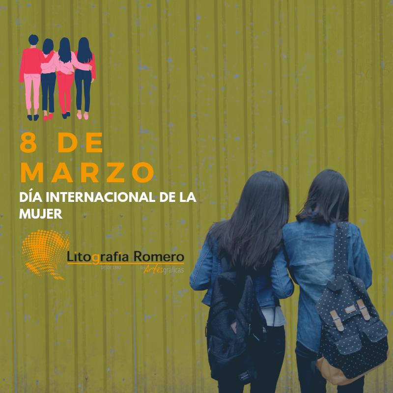 Mujeres impresoras - Litografía Romero