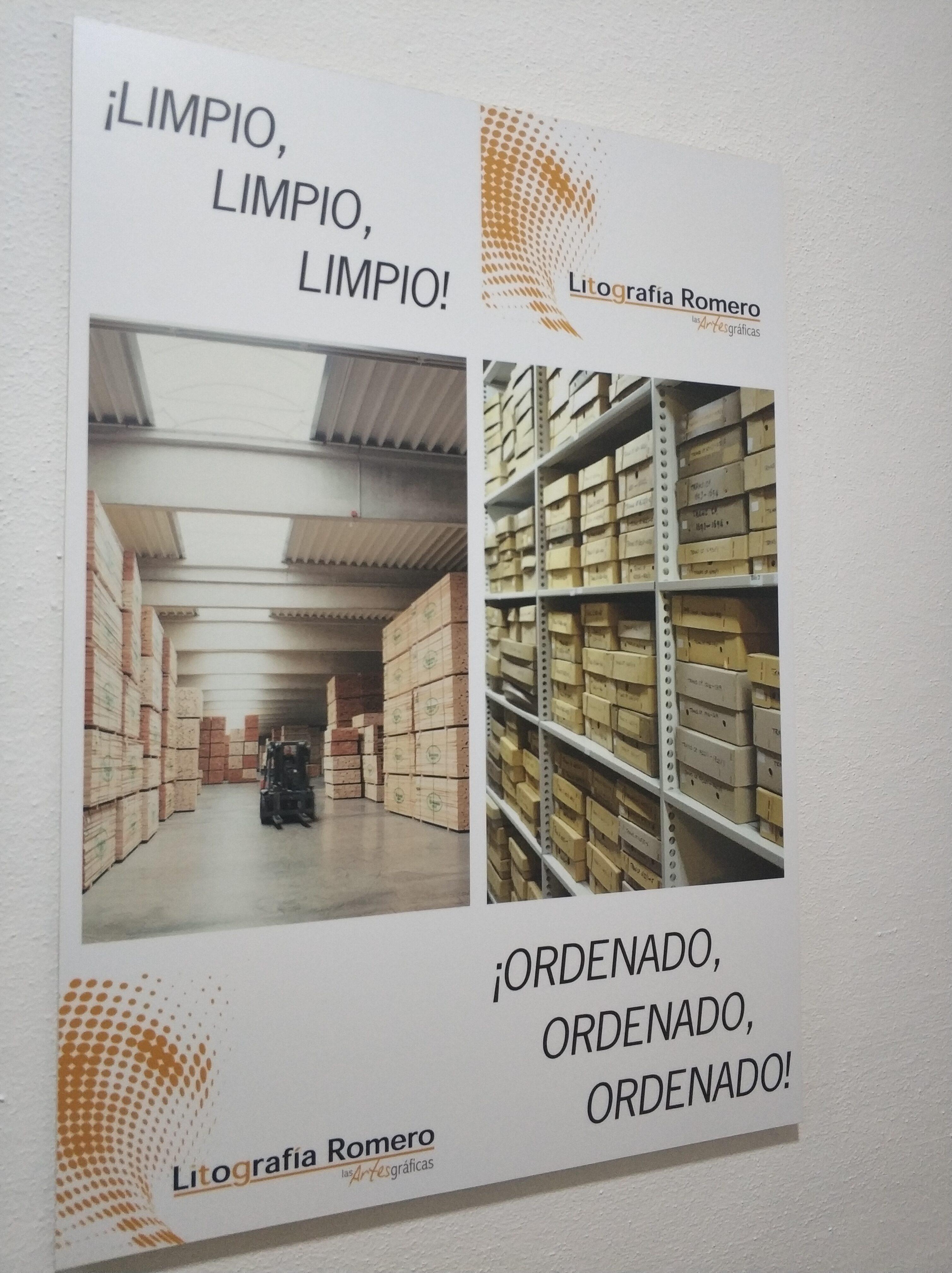 Imprenta Sostenible - Litografía Romero