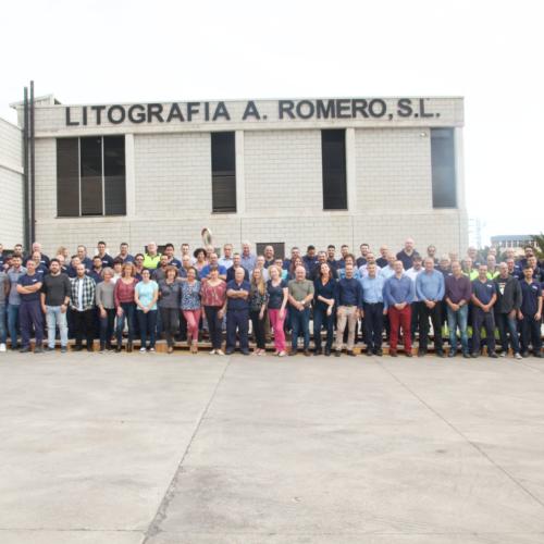 Día Internacional del Trabajador - Litografía Romero