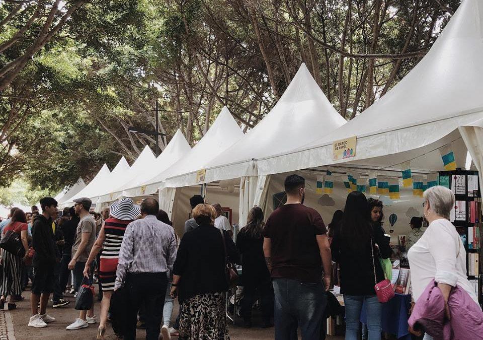 Litografía Romero en la Feria del Libro de Santa Cruz de Tenerife 2019
