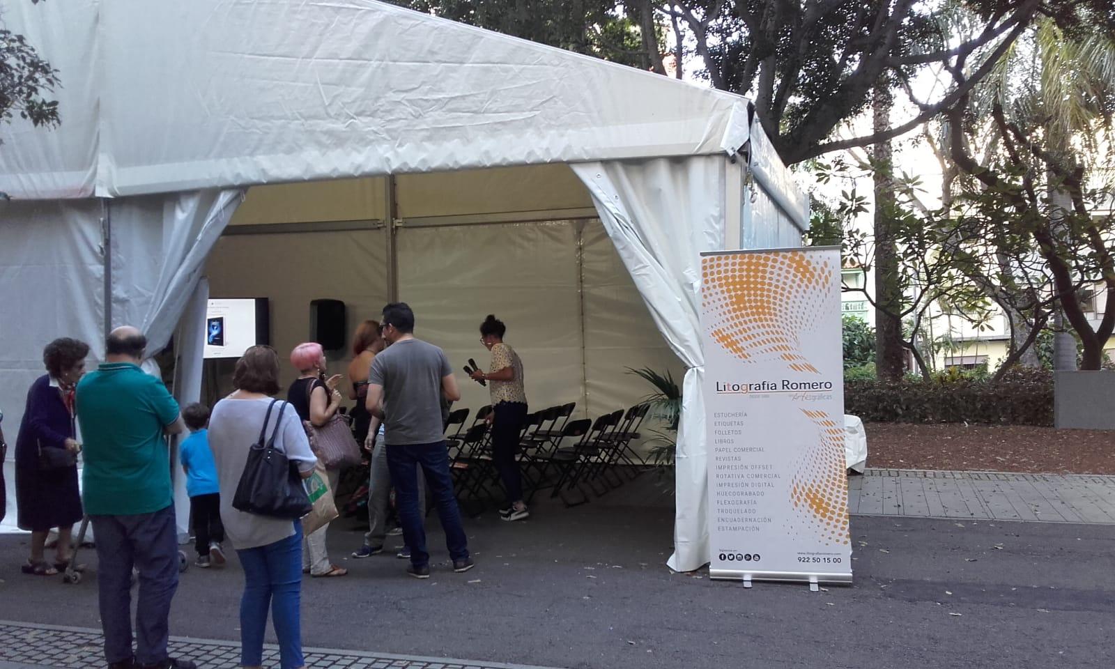 Aumenta la venta de libros en la XXXI Feria del Libro de Santa Cruz de Tenerife